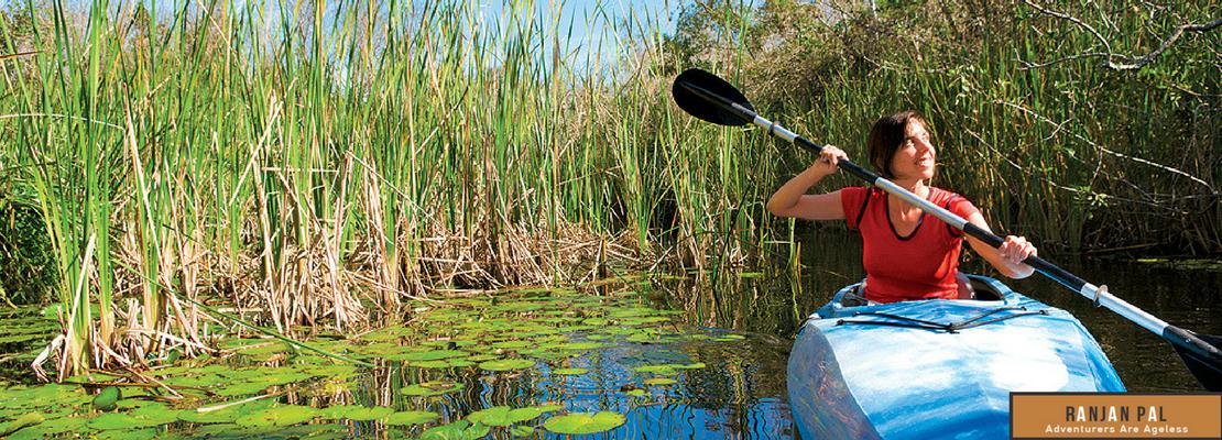 Kayaking in the Everglades watershed   RanjanPal.com
