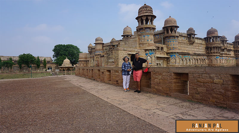 Visit To Gwalior Fort Embroidery In Stone